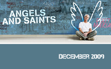 angels and saints concert graphic